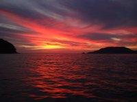 Sunset in Ixtapa