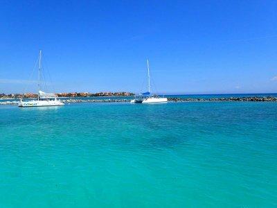 Catamaran ride with food Playa del Carmen 7 h