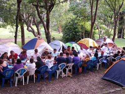 Camp for groups in Tochimilco 2 nights