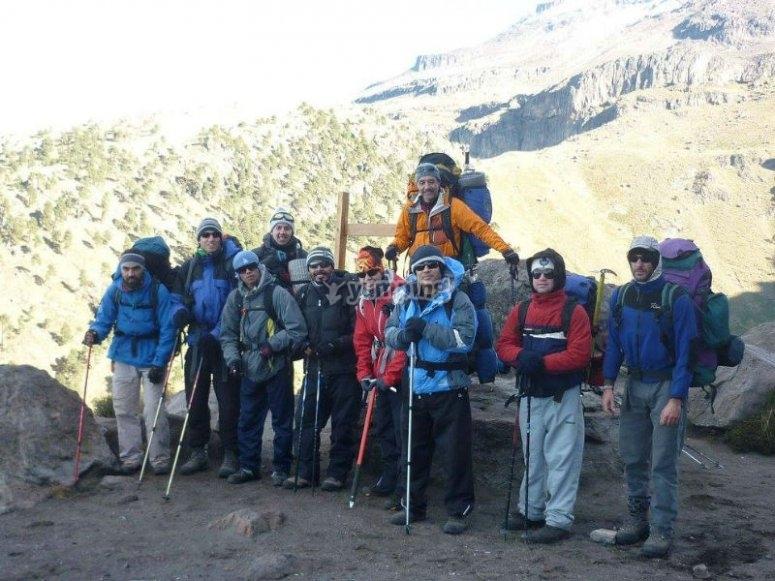 Caminata por el Nevado de Toluca