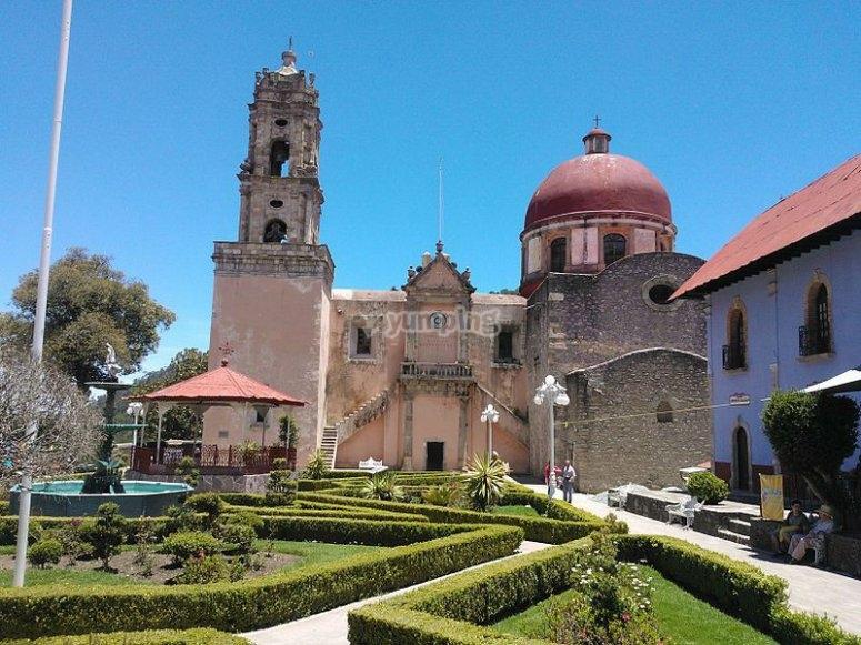 Iglesia de la Purísima Concepción en Mineral del Chico