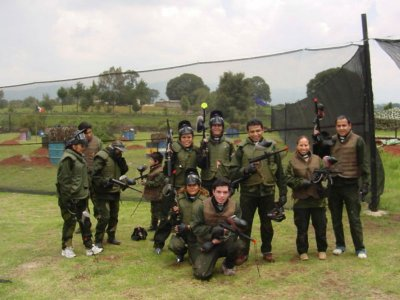 Gotcha 1000 bullets for group 15 pax in Jilotepec