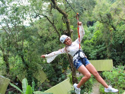 Zip-line Circuit in Huasteca Potosina 2 hours