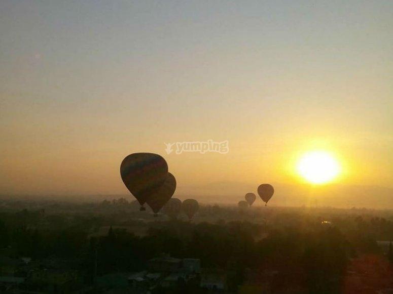 Beautiful sunrises in Apulco