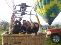 Balloon adventure with yours