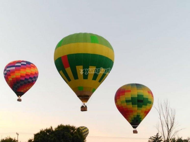 Balloon flight adventure