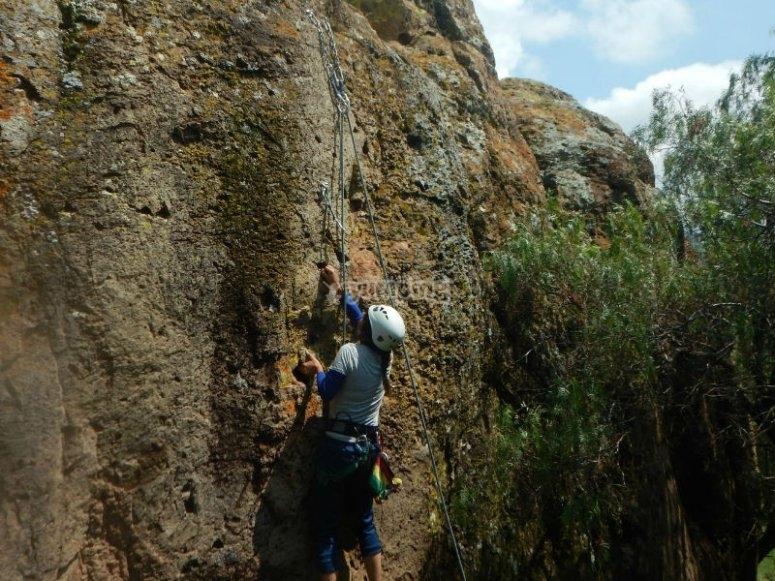 Climbing adventure