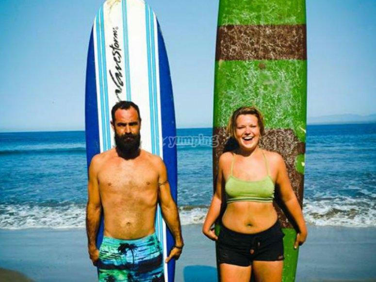 Experiencia de surf