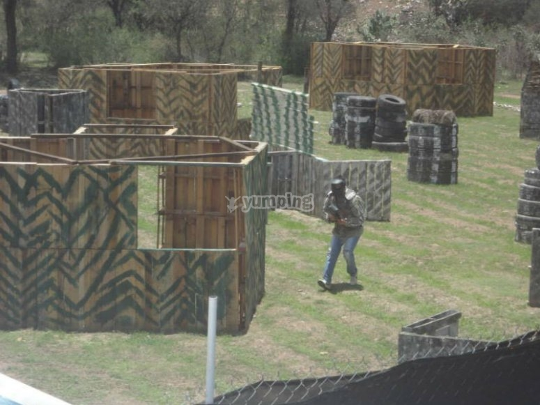 Get to know our paintball field