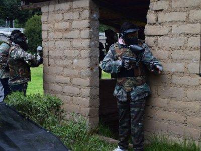 Partida de gotcha con 500 balas en La Marquesa