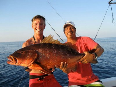 Fishing day for 5 pax in Punta Mita 8 hrs