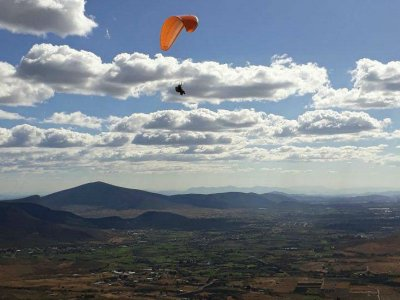 Tandem Paragliding Flight in La Cañada 25 min