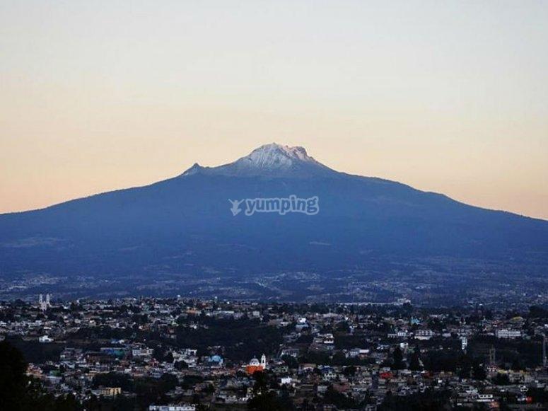 View of La Malinche