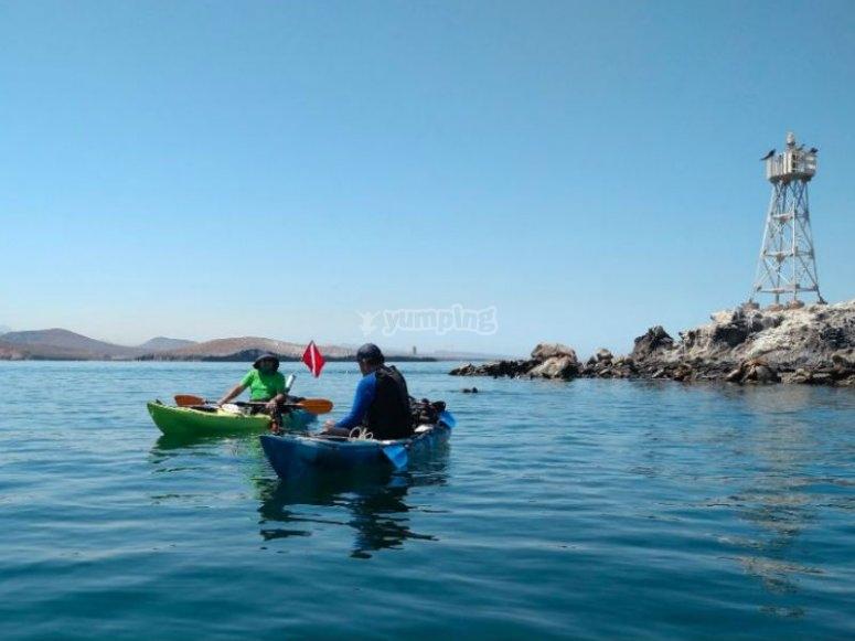 Enjoy a day of kayaking