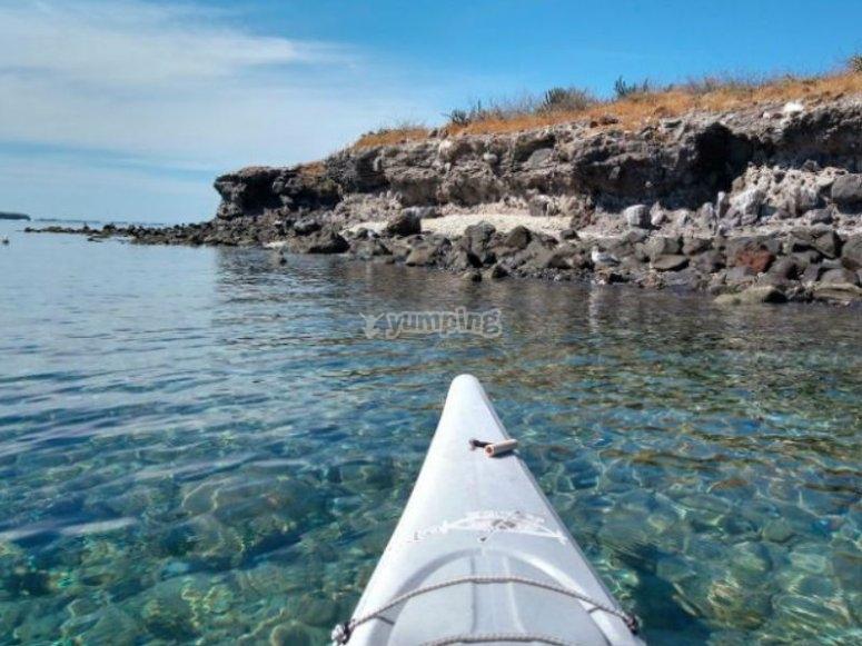Kayak experience in La Paz
