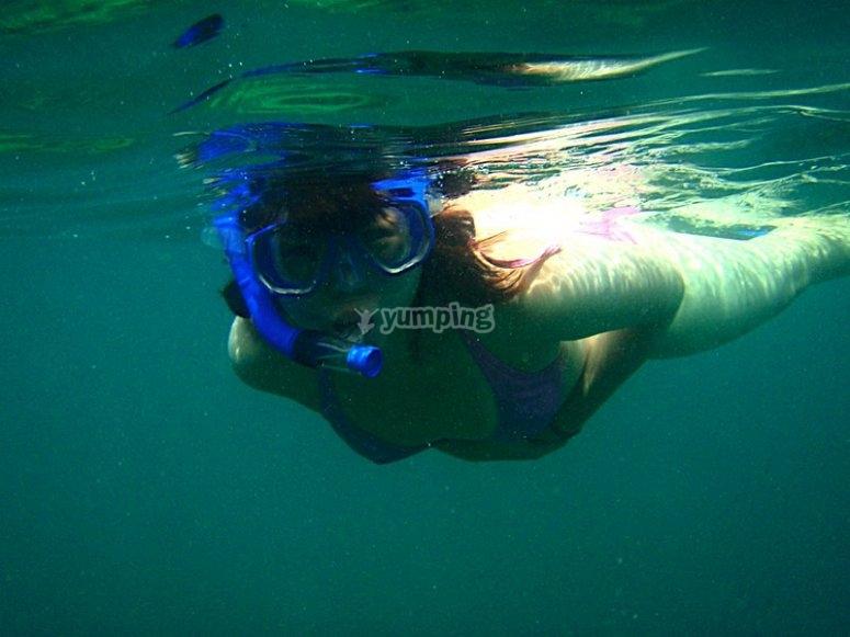Snorkel en La Paz
