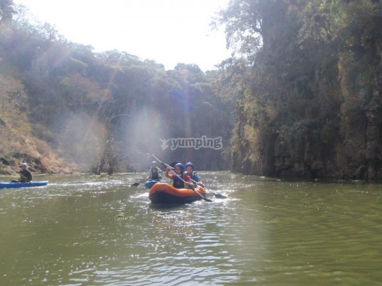 Kayak ride with yours