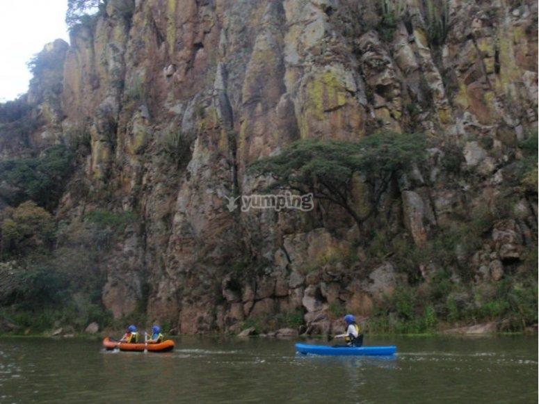 Enjoy the kayak ride