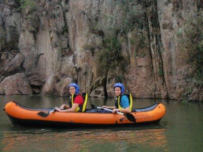 Aventura de kayak en Cañada de Zatemayé 8 horas