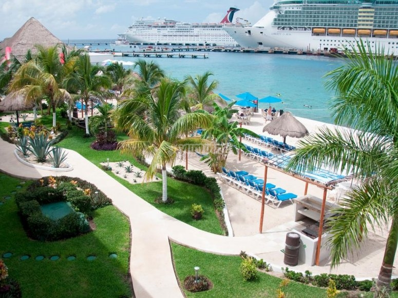 Enjoy a delicious holidays in Cozumel