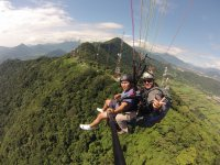Divertidisimo paragliding flight