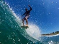 Experiencia de surf en barco Punta Mita 1 hora