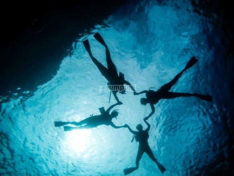 Experiencia de snorkel en Islas Marietas