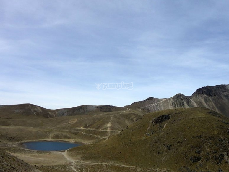 Nevado and its crater