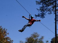 4 zip lines circuit in Tulimán Park 1 day