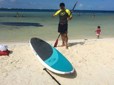 Stand Up Paddle board rental Cancun 1 day