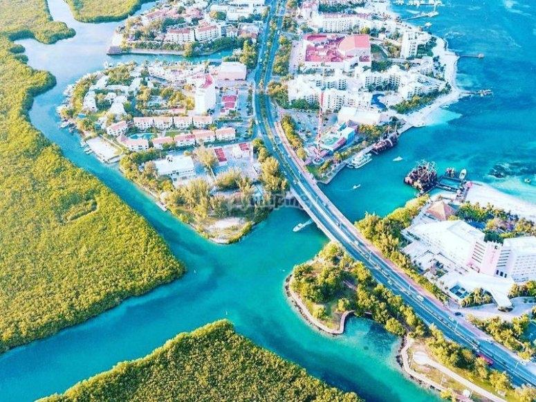 Mangrove channels in Cancun