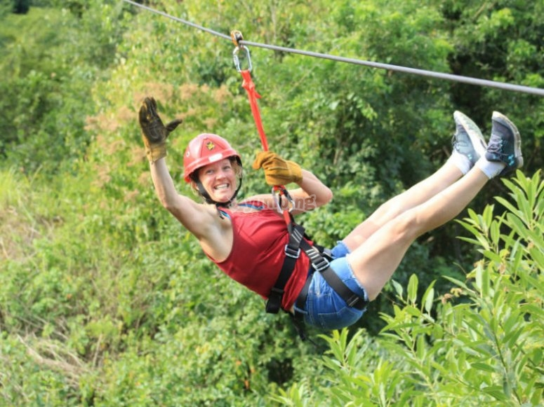 Glide on our zip lines