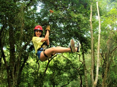 Zipline for kids in Sayulita 2 hours