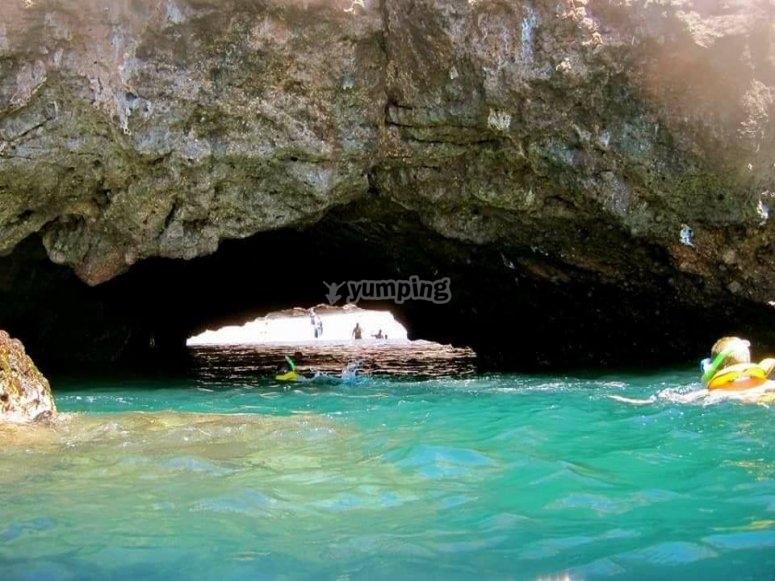 Increíbles paisajes en Islas Marietas