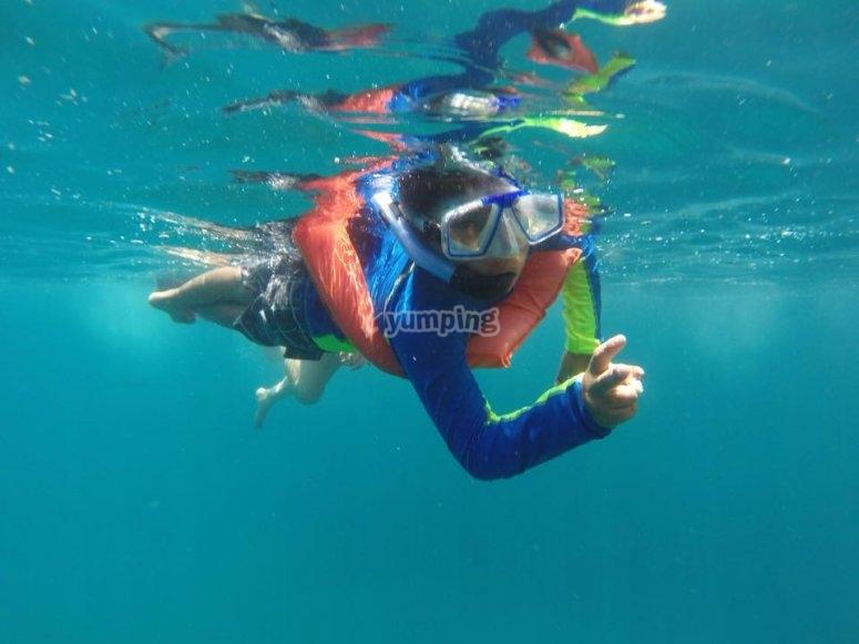 Tour de snorkel