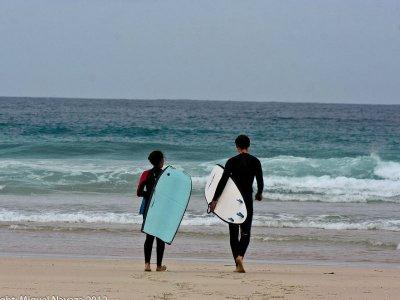 Semi-private surf class in Tulum 2 hours