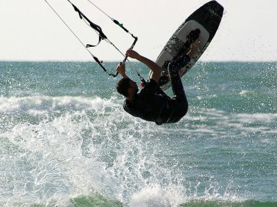 Kitesurf equipment rental in Tulum 1 hour