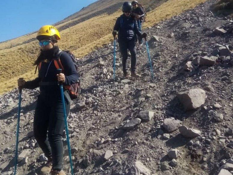 Experience this walk in La Malinche
