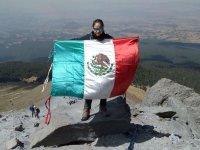 Arrival at the summit of La Malinche