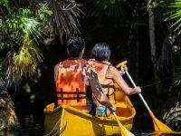 Paddling through the Caribbean