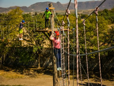 Zip lines and bridges circuit in Atlixco 3 hours