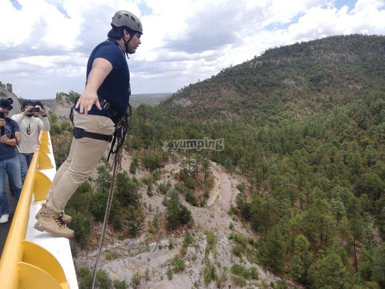 Profitez du saut à l'élastique à Durango