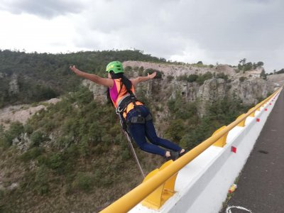 Bungee Jumping Adventure in Puente El Chicle 4h