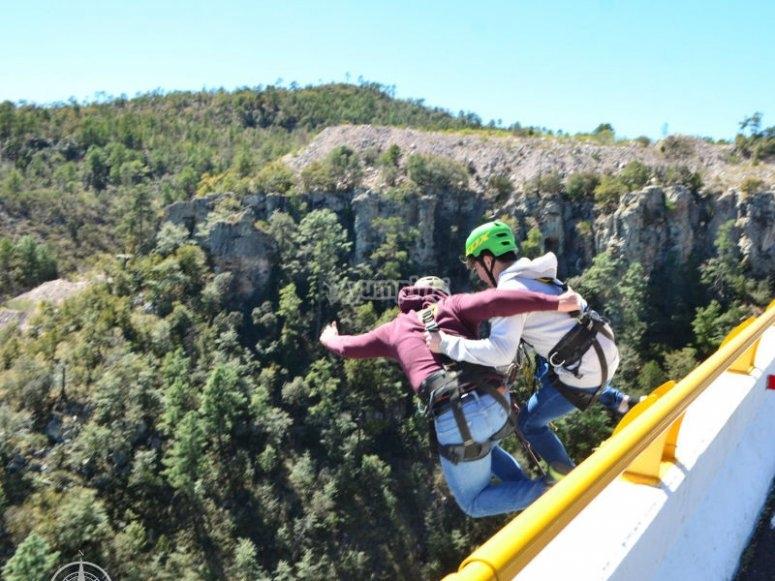 Los esperamos para saltar en Durango