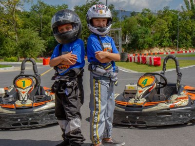 Junior Go karting adventure in Santiago 10 min