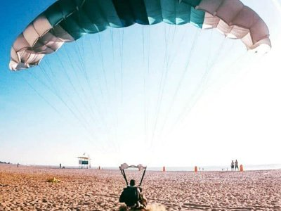 Parachute with video Go Pro Puerto Escondido 1 hr