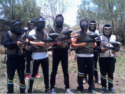 Partida de Gotcha con 200 cápsulas en Teotihuacán