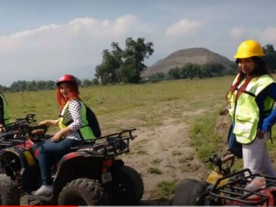 ATV adventure in Teotihuacán 1/2 hour