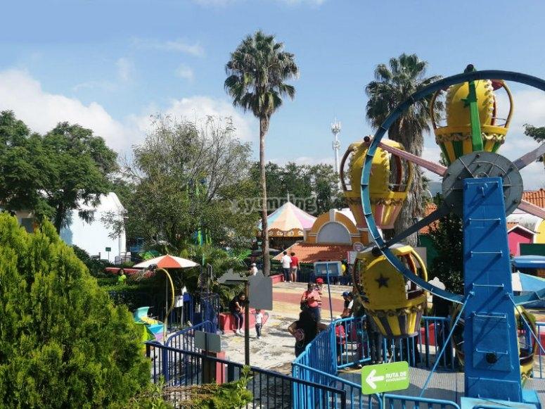 Amusement park in Guadalajara