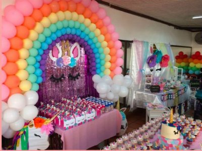 Party room with food 80 pax in Guadalajara